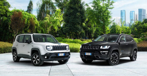 Jeep Renegade e Jeep Compass ibride plug-in
