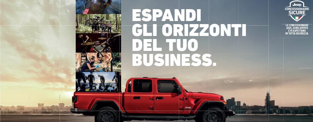 Jeep Gladiator a Torino